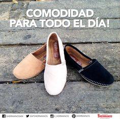 Si vas a caminar todo el día, que sea con el mejor zapato. Encuentra los zapatos más cómodos en Zapaterias 3 Hermanos