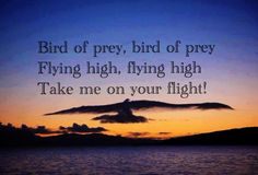 Bird of Prey - From a poem By Jim Morrison