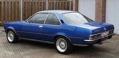 """Opel Commodore B GS/E carried the tradition founded by the """"A"""" version further. I think it counts to one of the most prettiest designs Opel ever produced. Car Ins, Cars And Motorcycles, Muscle Cars, Cool Cars, Classic Cars, Automobile, Bike, Vehicles, Leo"""