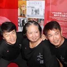 The Three Brothers! Jackie Chan, Sammo Hung and Yuen Biao! Bruce Lee Martial Arts, Self Defense Martial Arts, Kung Fu Martial Arts, Martial Arts Movies, Martial Artists, Jackie Chan, Hk Movie, Sammo Hung, Bruce Lee Family