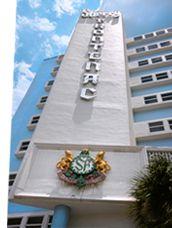 MiMo Architecture  - Sherry Frontenac, 6565 Collins AVe., North Beach Resort Historic District (Miami Beach, Florida)