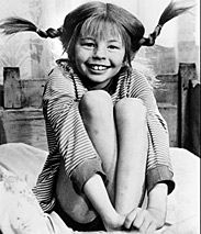 Pippi -- my Papa would take me to see Pippi Longstocking movies in the mid-to-late 70's.