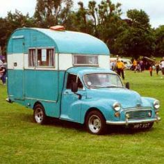 The Old timers,.A 1960 odd Morris minor camper Camper Caravan, Truck Camper, Camper Trailers, Camper Van, Home Made Camper Trailer, Vintage Rv, Vintage Caravans, Vintage Travel Trailers, Vintage Campers