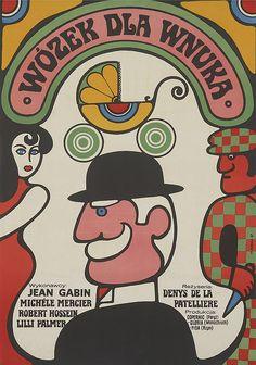 vintage everyday: 1960s Polish Film Poster Art