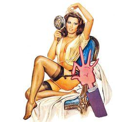 Edwige Fenech - The Virgo, the Taurus and the Capricorn, 1977. Artiste inconnu.