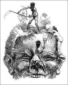Heinrich Kley--his line work was so amazing and fluid.