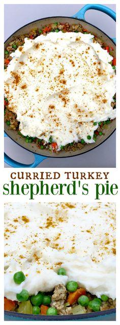 Curried Turkey Shepherd's Pie