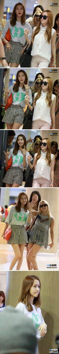 #Yoona #윤아 #ユナ #SNSD #少女時代 #소녀시대 #GirlsGeneration 130623 Incheon Airport Nakus32