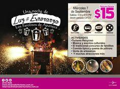 Tour a Los Farolitos de Apaneca, miercoles 7 de septiembre precio $15USD. Salidas a las 5:00 y 6:00 PM, contaremos con parqueo privado y seguridad   Reserva tu espacio ya, cupo limitado.  Info. 2510-7640  reservas@elsalvadorturismo.com.sv