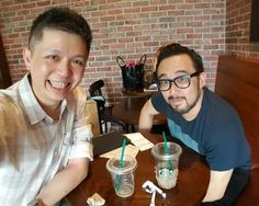 Appreciation and thanks to a brother for the fellowship, coffee and insights. Next round on me ya.  #entrepreneurs #NickG #sharing #learning #wisdom #experience