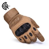 CQB Outdoor Tactical Gloves Full Finger Sports Hikin...