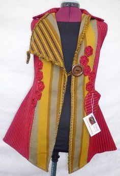 Resultado de imagen para productos  en telar Diy And Crafts, Dads, Ladies Fashion, Sweater Vests, Ponchos, Wraps, Products, Fabrics
