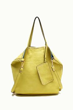 The Gilded Lily Home: New Synthetic Leather Bags from Tosca - Olive, $42