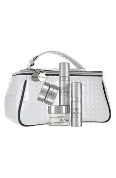 Free shipping and returns on RéVive® 'Intensité' Travel Collection ($515 Value) at Nordstrom.com. RéVive Intensité Travel Collection is filled with the brand's most intensive, anti-aging best-sellers in convenient sizes. Used together, the powerful regimen visibly fills the gap, plumping, volumizing, nourishing and restoring firmness and elasticity for rejuvenated, more youthful-looking skin.<br><br>Collection includes:<br>- Intensité Volumizing Serum (0.17 oz.): a serum that provides ...