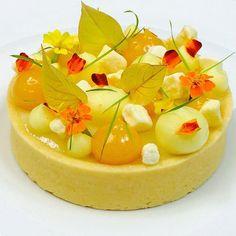 Passion fruit tart #TagsForLikes #Bachour #bachourchocolate…