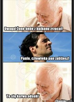 Po co brać leki jak można brać mEmE # Humor # amreading # books # wattpad Best Memes, Best Quotes, Wtf Funny, Hilarious, Polish Memes, Weekend Humor, Funny Mems, Lol, Pranks