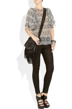 rocker chic. wish i could pull this off.