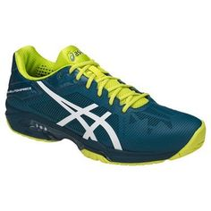 65d28698f5ed Asics Gel Solution Speed 3 Mens Tennis Shoe - Ink Blue White Sulphur Springs