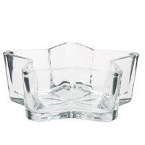 "Star-Shaped Glass Bowls, 6"""