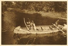 """""""Ojibway Hunters"""" by Roland W. Reed. No date or additional information."""