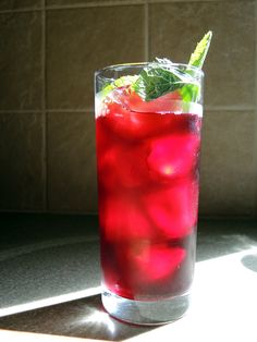Man Fuel Food Blog - Karkade (Hibiscus Iced Tea) Recipe