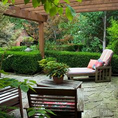 Get inspired to create a charming and relaxing space in your backyard with these patio landscaping ideas. These ideas are perfect for a relaxing night or entertaining a crowd. Get ready for summer and update your patio with these stunning ideas.