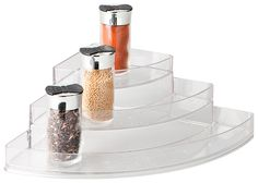 Perfect for storing your spices. Linus Stadium Corner Spice Rack $49.95. Available at Howards Storage World