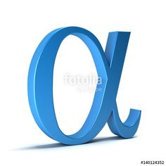 """Download the royalty-free photo """"Alpha Mathematical Symbol. 3D Rendering Illustration"""" created by Fotolia365 at the lowest price on Fotolia.com. Browse our cheap image bank online to find the perfect stock photo for your marketing projects!"""