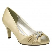 Champagne Wedding Shoes Claire Paradox Pink - The Wedding Boutique