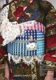 Making Casual Kimono & Yukata Patterns Yumi by JapanLovelyCrafts