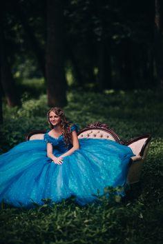 Cinderella Disney Dress - Costume / Cosplay Gown - 2015 Live Action Movie…