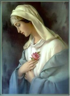 """When we appeal to the throne of grace we do so through Mary, honoring God by honoring His Mother, imitating Him by exalting her, touching the most responsive chord in the sacred heart of Christ with the sweet name of Mary."" — St. Robert Bellarmine"
