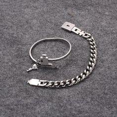 2pcs/set Couple Bracelet - Daylight Disc Couple Bracelets, Bangle Bracelets, Jewelry Necklaces, Bangles, Key Pendant, Pendant Necklace, Stainless Steel Bracelet, Love Heart, Great Gifts
