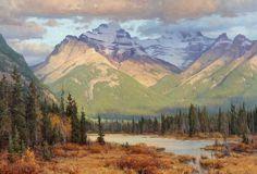 Clyde Aspevig, The Canadian Rockies
