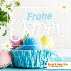 Anleitung: Knöpfebild mit Herz zum Muttertag - buttinette Blog Easter Eggs, Blog, Crafts, Craft, Tutorials, Little Mermaid Crochet, Cute Llama, Tunisian Crochet, Manualidades