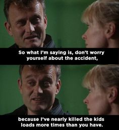 """When Pete tried to comfort Sue: 