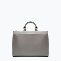 Image 1 of OFFICE CITY BAG WITH POCKET from Zara