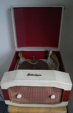 Portadyne Portable Record Player, 1960s