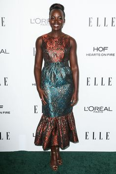 Lupita Nyong'o set the bar on bold red carpet dressing well in advance of awards season.