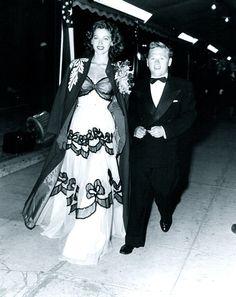 Ava Gardner and Mickey Rooney...