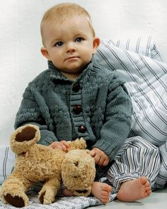 Knitting For Kids, Baby Knitting, Crochet Baby, Knit Crochet, Baby Barn, Boys Sweaters, Little People, Trendy Baby, Baby Wearing