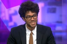 Richard Ayoade Politely Destroyed The Media Interview Process On Channel 4 NewsLast Night - Funny how some people are so similar to their characters on tv.