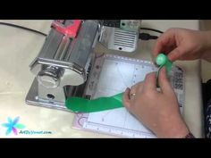 ▶ Polymer Clay Tutorial - How to Make a Blended Log - lesson #2 by Yonat Dascalu - YouTube