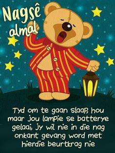 Goeie Nag, Afrikaans Quotes, Good Night Sweet Dreams, Special Quotes, Qoutes, Positivity, Words, Master Bedrooms, Amen