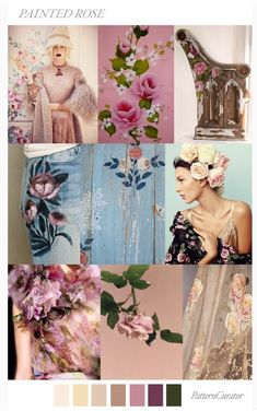 FV contributor, Pattern Curator curates an insightful forecast of mood boards & color stories and we are thrilled to have them on board as o. Mode 2018 Trends, Today's Fashion Trends, Moda Fashion, Trendy Fashion, Fashion Design, Fashion Styles, Women's Fashion, Fashion Women, Fashion Ideas