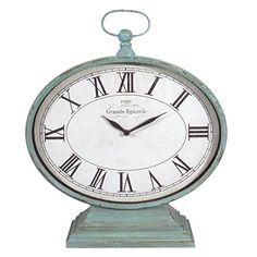 American Mercantile Metal Mantel Clock AMERICAN MERCANTILE http://www.amazon.com/dp/B00MJZY5W8/ref=cm_sw_r_pi_dp_j3nTwb1XSHM53