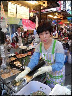 Namdaemun Market in Seoul, Korea