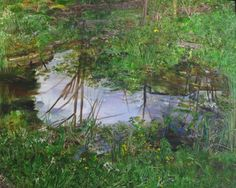 Pond with Lillies, Geoff Routh