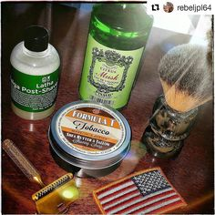 #Repost @rebeljpl64  MAIL CALL from @maggardrazors tonight so why not make it the SOTD? All of these scents worked really well together. I'm smelling like a really fresh forest of limes! Thanks to @cap7597 for the strong recommendation of @wetshavingproducts Tobacco Formula T great performance and smell. That HUGE granite handle Maggard synthetic brush is a beast! Biggest one I have by far! The Taiga post-shave was the undercover star though never used @barristerandmann alcohol free…