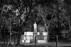 #statue #public #sculpture (#trickle #down #great #man #theory) #economics  #south #mumbai #india #monochrome #streetphotography #streetpics